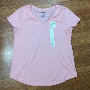 Women's cotton vneck T-shirt Size Large